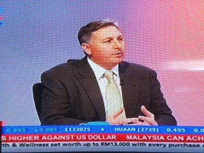 Nordin Abdullah Speaking on Biz Talk Bernama TV